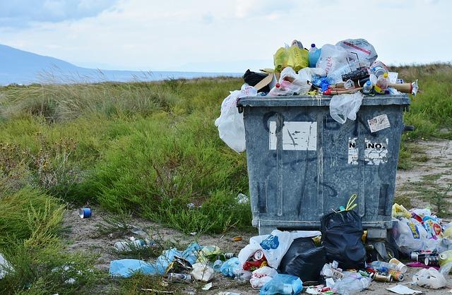 Müllsammelaktion in Fahrland